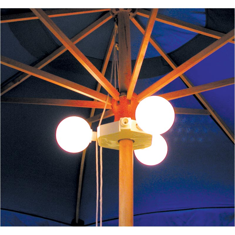 Светильник - Garden umbrella light